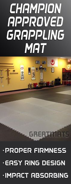 Used for academy and tournament flooring by the likes of BJJ world champions Rodrigo Comprido Medeiros and Rafael Ellwanger, Greatmats Grappling MMA are simply the best grappling mats on the market.