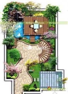 Super yard garden design decks 44 Ideas – Garden & Tips Landscape Architecture Drawing, Landscape Design Plans, Garden Design Plans, Small Garden Design, Yard Design, Landscape Edging, House Landscape, Landscape Drawings, Hard Landscaping Ideas