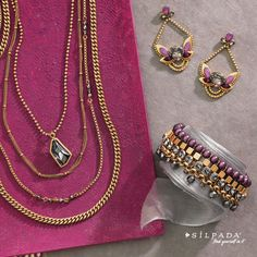 #Silpada jewels from the K & R Collection are made with Swarovski Crystal! #jewelry