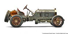 1906 Locomobile racer; winner of 1908 Vanberbilt Cup Race