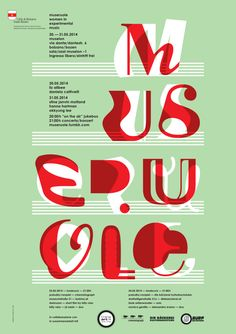 Poster Graphics for Museruole – women in experimental music by Ambrosi… Typography Poster, Graphic Design Typography, Graphic Design Illustration, Cover Design, Type Face, Alphabet City, Experimental Music, Types Of Lettering, Typography Inspiration