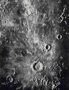 1903 moon crater original antique astronomy by antiqueprintstore, $2.50
