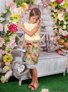 Коллекция весна-лето 2015 г. ТМ ' MONE' для девочек