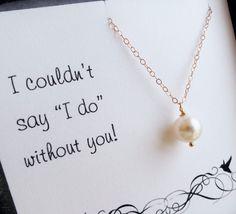 Cute way to ask bridesmaids!
