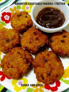 CURRY AND SPICE: ASSORTED VEGETABLE PAKORA / FRITTER