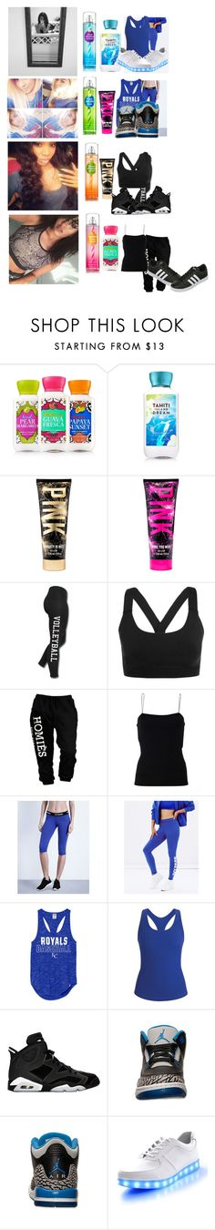 """""""*music video* --Girls"""" by youngmoney-x ❤ liked on Polyvore featuring Ivy Park, T By Alexander Wang, Black Diamond, Retrò and adidas"""