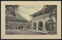 De Kraton. Het paleis van de sultan van Djokjakarta in Midden-Java.