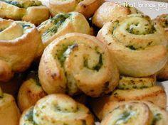 Pesto Pinwheels, Super easy and delicious hor dourve