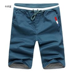 Casual Slim Fit Shorts
