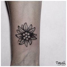 Small edelweiss on the wrist done by @annekefitrianti . . #blacktattooart #btattooing #blacktattooing #linework #lineworktattoo #inkstinctsubmission #blackworktattoo #taot #blackworkerssubmission #tattoolife #blacktattoo #lineworks #blackworks #dotworks #occultart #blacktattoomag #inkedblaq #tattoojogja #jogjatattoostudio #INDONESIA #blacktattooartist