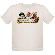 Merry Christmas Trio Ash Grey T-Shirt