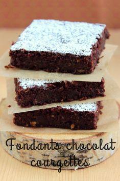 De délicieux fondants au chocolat et à la courgette! Sans beurre, sans produits laitiers! Dairy free zucchini and chocolate cake! #dairyfree #lactosefree #sansplv #chocolat #gâteau #courgette