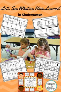 I know that all Kindergarten teachers need to see exactly what their kinders have learned during the school. These ready to print and use sheets can be used as an assessment, reteach, reinforcement or even an intervention. They are aligned with Common Cor