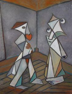 Cubisme sentimental ‹ Michel Paris • Sculpteur/Peintre/Photographe/Tailleur de pierre