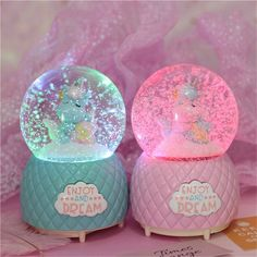 Size: about Material: environmentally friendly high-grade resin COLORFUL LIGHTS: This music box with lights switch, the colors change Unicorn Bedroom Decor, Unicorn Rooms, Unicorn Gifts, Jasmin Party, Tout Rose, Unicorn Fashion, Kawaii Room, Cute Room Decor, Girl Bedroom Designs