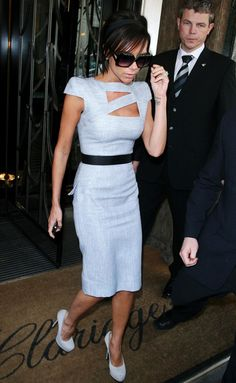 Vicky Becks  Beautiful in Powder blue. Victoria Beckham Shoes 09ea4f8f038
