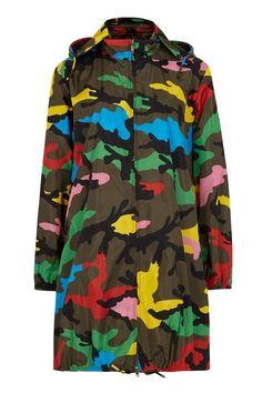 540b48adad8fc Multicoloured Shell Camouflage print