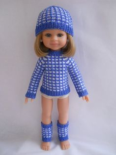 свитер или кофта для куклы Паола Рейна Мастер-класс, Кукольная Одежда, Вязаные Головные Уборы, Куклы, Образец, Мода, Вязаная Крючком Одежда, Куколки, Руководства