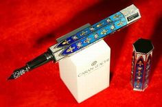 Most expensive writing instruments : Caran d'arch gotica pen. The Gotica jewel pen is fitted with 892 brilliant cut diamonds totaling 7.3 carats and the rosettes have 72 rubies and 72 emeralds.  valued at $406,453