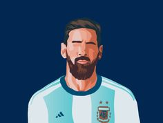 Messi Illustration designed by harshal yadav. Deadpool Chibi, Football Art, Football Players, Lionel Messi Barcelona, Leonel Messi, Cute Couple Wallpaper, Soccer Guys, Marcus Rashford, Sad Art