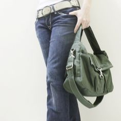 3rd Anniversary Sale  Mini CLASSIC by Kinies in Army by Kinies, $50.00