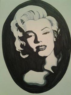 Marilyn by Laura 2013 My Arts