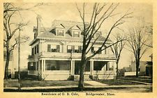 Residence O.B. Cole in Bridgewater, MA. East Bridgewater, Historical Photos, Great Deals, Confidence, Painting, Historical Pictures, Painting Art, Paintings, Painted Canvas