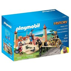 Playmobil Gladiator Arena Playset, Bright Multi Colors