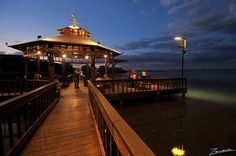 The Pier of Areguá, over the Ypacaraí Lake... a must on your travelling across Paraguay