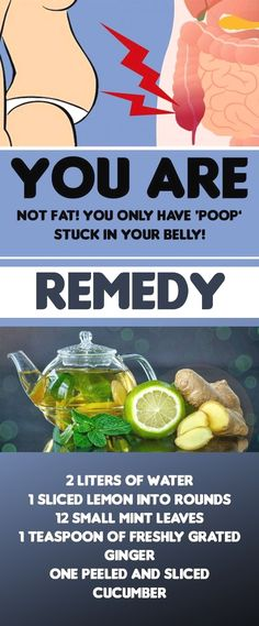 It's Not a Fat, Just a Poop Settled In Your Belly. Sassy Water Gives Remedy For It – Medi Idea #HealthandFitness