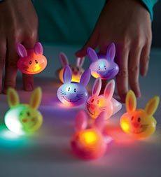 Flashing Bunny Rings