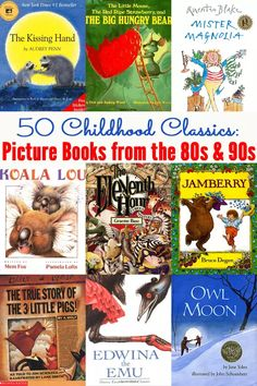 50 Childhood Favourites: Picture Books from the 80s and 90s