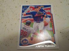 2014 Topps Series 1 Card 187 Justin Turner | eBay