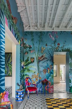 Erick Millan's Casablanca Design Studio – Art Deco Interior Interior Design Tips, Interior And Exterior, Interior Decorating, Luxury Interior, Decoration Inspiration, Interior Inspiration, Estilo Kitsch, Wall Decor, Room Decor