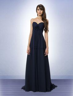 MOH dress, Bill Levcoff, Mandy's wedding