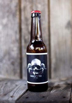 Congarra Red Beer by Sr. Rojo, via Behance