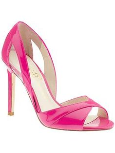 Tatiana by Ivanka Trump in  New hot pink/clear leather