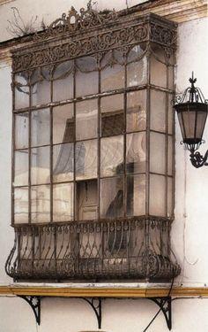 Suggestive windows, doors and terraces Vintage Architecture, Architecture Details, Amazing Architecture, Spanish Architecture, Architecture Panel, Old Windows, Windows And Doors, Antique Windows, Vintage Windows