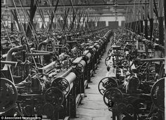 Cotton rooms fell silent after the industrial revolution