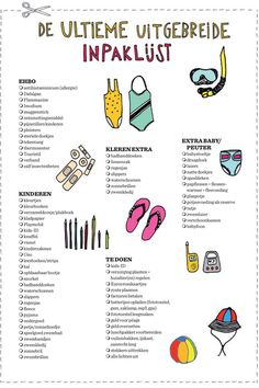 The ultimate packing list from Madame Zsazsa& holiday book - The ultimate packing list from Madame Zsazsa& holiday book - Travel Checklist, Packing List For Travel, Cruise Travel, Travel Tips, Packing Lists, Road Trip With Kids, Travel With Kids, Mind Relaxation, Travel Box