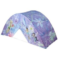 Amazon.com: Disney Fairies Tinkerbell Bed Tent with Pushlight: Home & Kitchen