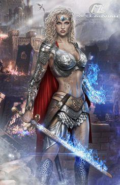 Queen Elyenora Commission by Maryneim on DeviantArt
