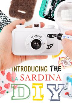 Countless La Sardina designs have reached our analogue shores, but there's room for more and we'd like to know what designs you can come up with! With the La Sardina DIY Edition, you can take full control of how you want this little sardine can camera can look. It comes with screws to take the camera apart and transparent panels to protect your artwork. http://shop.lomography.com/?utm_source=www_medium=shopnews_campaign=nl_la_sardina_diy