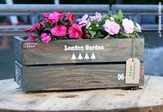 #ArredoPallet #Arredo #Pallet #Fioriera #Garden #Design #Flower