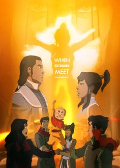 The law I have proposed would make it illegal for anyone to be a member of the Equalists - or even be associated with them. It also puts into effect a curfew, ensuring all non-benders are in their own homes by nightfall.    Legend of Korra episode posters | 1x08 When Extremes Meet