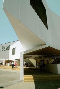 Schaulager Satellite in Basel, Switzerland by Herzog & de Meuron