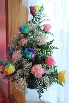 Shelly's Rainbow Roses