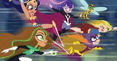 Super Hero Games, Dc Super Hero Girls, Cartoon Networt, Cartoon Images, Batgirl, Supergirl, Comics Girls, Dc Comics, Alvin And The Chipmunks