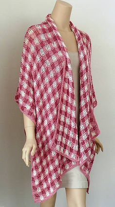 crochet plaid shawl Crochet...not just for grannies any more...great ideas...