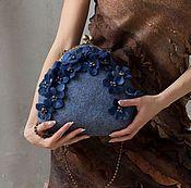 Валяная сумка «Из Парижа» - купить или заказать в интернет-магазине на Ярмарке Мастеров | В ожидании весны творю сумочки. Нежные, весенние,…